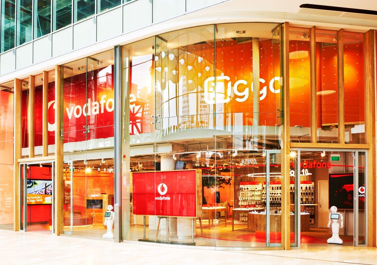 VodafoneZiggo opent winkel in Hoog Catharijne Utrecht